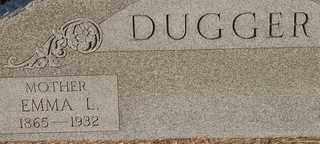 DUGGER, EMMA L - Collin County, Texas | EMMA L DUGGER - Texas Gravestone Photos