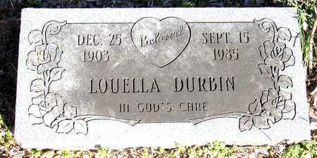 DURBIN, LOUELLA - Collin County, Texas | LOUELLA DURBIN - Texas Gravestone Photos