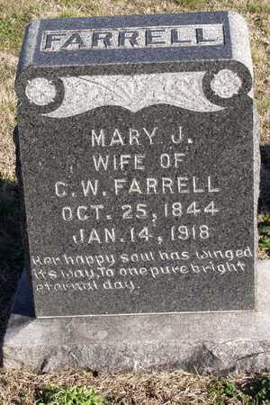 FARRELL, MARY J. - Collin County, Texas | MARY J. FARRELL - Texas Gravestone Photos