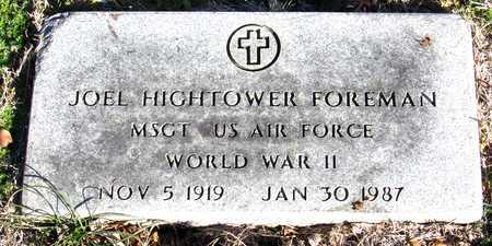 FOREMAN (VETERAN WWII), JOEL HIGHTOWER - Collin County, Texas   JOEL HIGHTOWER FOREMAN (VETERAN WWII) - Texas Gravestone Photos