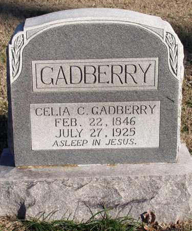 GADBERRY, CELIA C. - Collin County, Texas | CELIA C. GADBERRY - Texas Gravestone Photos
