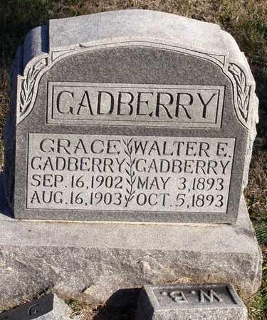 GADBERRY, WALTER E. - Collin County, Texas | WALTER E. GADBERRY - Texas Gravestone Photos