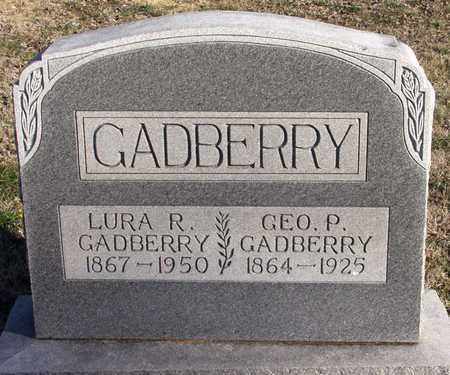GADBERRY, LURA R. - Collin County, Texas | LURA R. GADBERRY - Texas Gravestone Photos