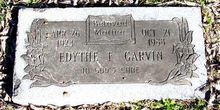 GARVIN, EDYTHE F. - Collin County, Texas | EDYTHE F. GARVIN - Texas Gravestone Photos