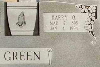 GREEN, HARRY O. - Collin County, Texas | HARRY O. GREEN - Texas Gravestone Photos