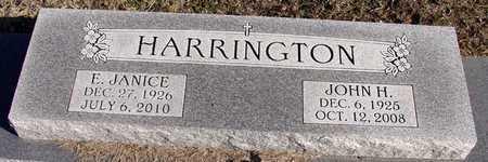 HARRINGTON, E. JANICE - Collin County, Texas | E. JANICE HARRINGTON - Texas Gravestone Photos