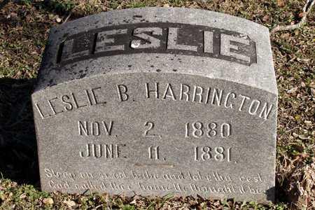 HARRINGTON, LESLIE B. - Collin County, Texas | LESLIE B. HARRINGTON - Texas Gravestone Photos