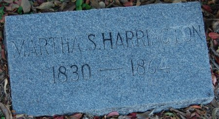 HARRINGTON, MARTHA S.  - Collin County, Texas | MARTHA S.  HARRINGTON - Texas Gravestone Photos