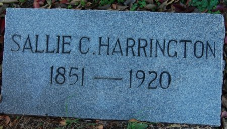 HARRINGTON, SALLIE CAROLINA - Collin County, Texas | SALLIE CAROLINA HARRINGTON - Texas Gravestone Photos