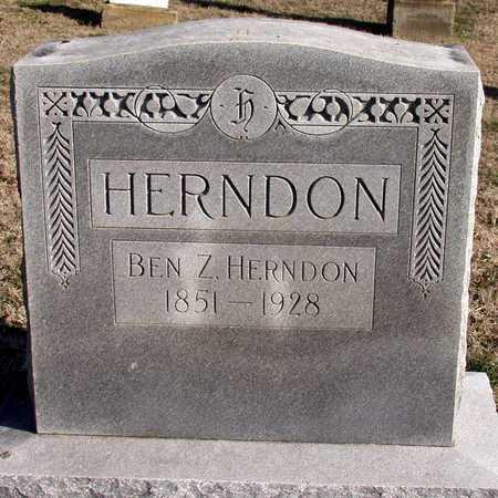 HERNDON, BEN Z. - Collin County, Texas | BEN Z. HERNDON - Texas Gravestone Photos