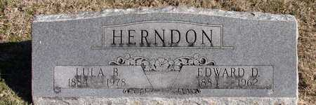 HERNDON, EDWARD D. - Collin County, Texas | EDWARD D. HERNDON - Texas Gravestone Photos