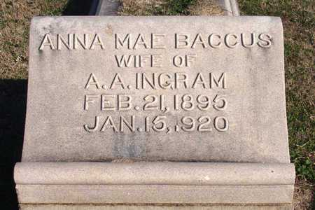 INGRAM, ANNA MAE - Collin County, Texas | ANNA MAE INGRAM - Texas Gravestone Photos