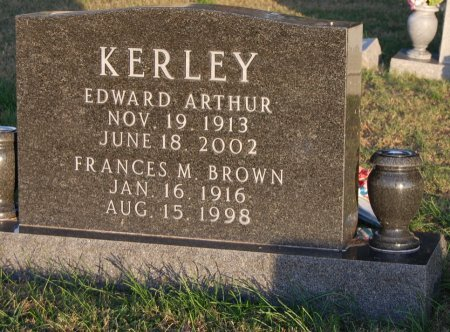 BROWN KERLEY, FRANCES M. - Collin County, Texas | FRANCES M. BROWN KERLEY - Texas Gravestone Photos
