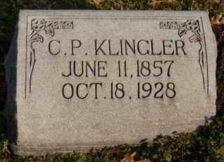 KLINGLER, C. P. - Collin County, Texas | C. P. KLINGLER - Texas Gravestone Photos