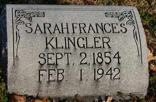 WATTS KLINGLER, SARAH FRANCES - Collin County, Texas | SARAH FRANCES WATTS KLINGLER - Texas Gravestone Photos