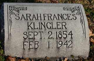 KLINGLER, SARAH FRANCES - Collin County, Texas | SARAH FRANCES KLINGLER - Texas Gravestone Photos