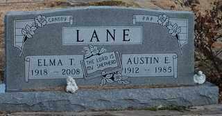 LANE, ELMA T - Collin County, Texas | ELMA T LANE - Texas Gravestone Photos