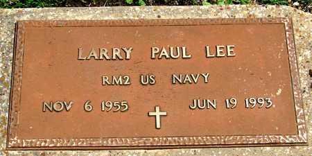 LEE (VETERAN), LARRY PAUL - Collin County, Texas   LARRY PAUL LEE (VETERAN) - Texas Gravestone Photos