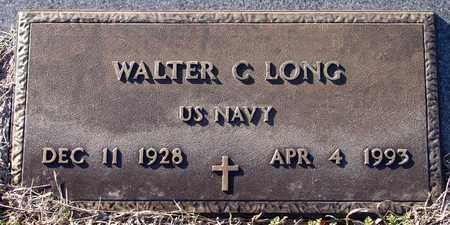 LONG (VETERAN), WALTER C - Collin County, Texas | WALTER C LONG (VETERAN) - Texas Gravestone Photos