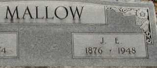 MALLOW, J. E. - Collin County, Texas   J. E. MALLOW - Texas Gravestone Photos