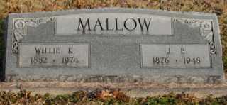 KINGLER MALLOW, WILLIE - Collin County, Texas | WILLIE KINGLER MALLOW - Texas Gravestone Photos