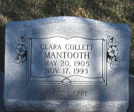 MANTOOTH, CLARA COLLETT - Collin County, Texas   CLARA COLLETT MANTOOTH - Texas Gravestone Photos