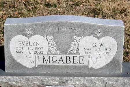 MCABEE, G. W. - Collin County, Texas | G. W. MCABEE - Texas Gravestone Photos