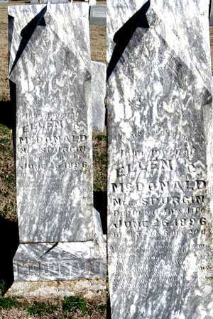 SPURGIN MCDONALD, ELLEN C. - Collin County, Texas | ELLEN C. SPURGIN MCDONALD - Texas Gravestone Photos