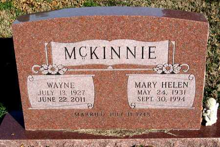 MCKINNIE, WAYNE - Collin County, Texas | WAYNE MCKINNIE - Texas Gravestone Photos