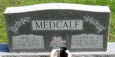 MEDCALF, OPAL L. - Collin County, Texas   OPAL L. MEDCALF - Texas Gravestone Photos