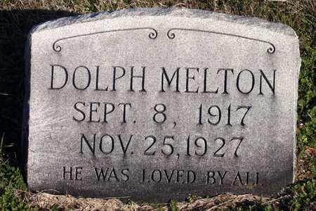 MELTON, DOLPH - Collin County, Texas   DOLPH MELTON - Texas Gravestone Photos