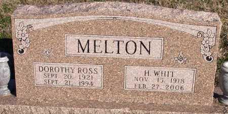 ROSS MELTON, DOROTHY - Collin County, Texas | DOROTHY ROSS MELTON - Texas Gravestone Photos