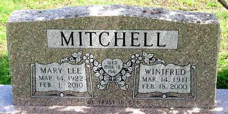 MITCHELL, WINIFRED - Collin County, Texas | WINIFRED MITCHELL - Texas Gravestone Photos