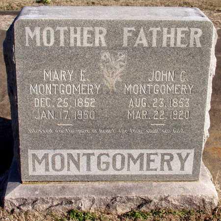 MONTGOMERY, MARY E. - Collin County, Texas   MARY E. MONTGOMERY - Texas Gravestone Photos
