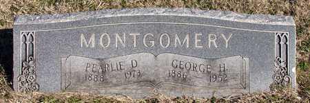MONTGOMERY, GEORGE H. - Collin County, Texas | GEORGE H. MONTGOMERY - Texas Gravestone Photos