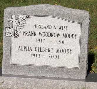 MOODY, ALPHA - Collin County, Texas | ALPHA MOODY - Texas Gravestone Photos