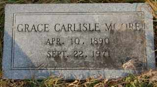 CARLISLE MOORE, GRACE - Collin County, Texas | GRACE CARLISLE MOORE - Texas Gravestone Photos