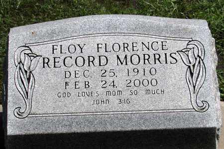 MORRIS, FLOY FLORENCE - Collin County, Texas | FLOY FLORENCE MORRIS - Texas Gravestone Photos