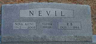 NEVIL, R B - Collin County, Texas | R B NEVIL - Texas Gravestone Photos