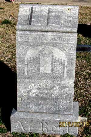 PALMER, MARY A. - Collin County, Texas | MARY A. PALMER - Texas Gravestone Photos