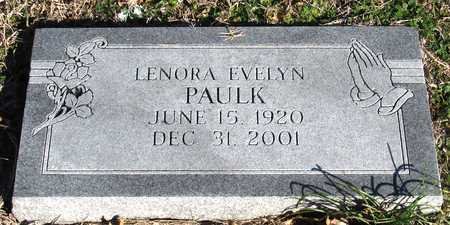PAULK, LENORA EVELYN - Collin County, Texas | LENORA EVELYN PAULK - Texas Gravestone Photos
