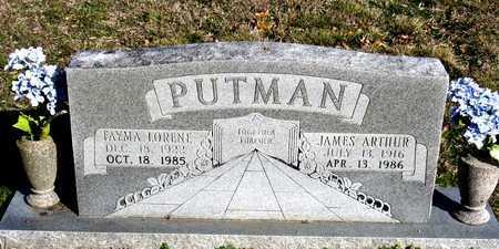 PUTMAN, JAMES ARTHUR - Collin County, Texas   JAMES ARTHUR PUTMAN - Texas Gravestone Photos