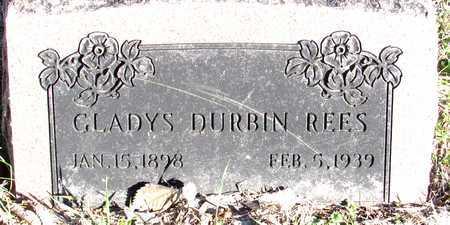 DURBIN REES, GLADYS - Collin County, Texas | GLADYS DURBIN REES - Texas Gravestone Photos