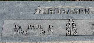ROBASON, PAUL D. - Collin County, Texas | PAUL D. ROBASON - Texas Gravestone Photos