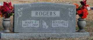 ROGERS, EARL J - Collin County, Texas | EARL J ROGERS - Texas Gravestone Photos