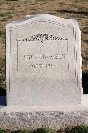 RUNNELS, LIGE - Collin County, Texas | LIGE RUNNELS - Texas Gravestone Photos