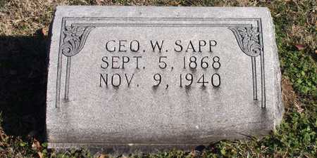 SAPP, GEORGE W. - Collin County, Texas | GEORGE W. SAPP - Texas Gravestone Photos
