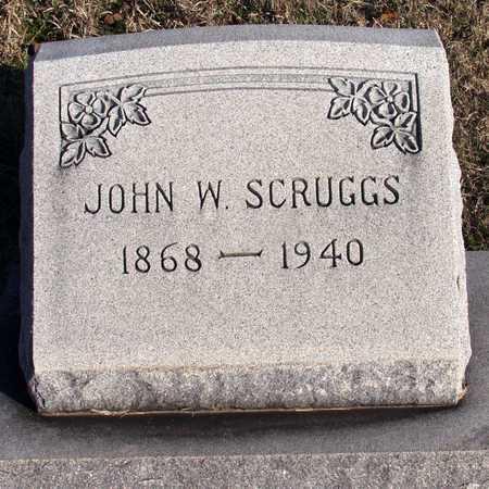 SCRUGGS, JOHN W. - Collin County, Texas | JOHN W. SCRUGGS - Texas Gravestone Photos