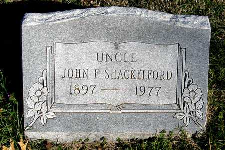 SHACKELFORD, JOHN F. - Collin County, Texas | JOHN F. SHACKELFORD - Texas Gravestone Photos