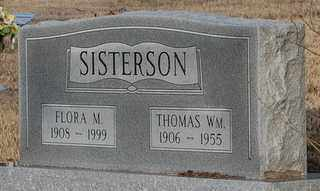 SISTERSON, FLORA MACKENZIE - Collin County, Texas | FLORA MACKENZIE SISTERSON - Texas Gravestone Photos